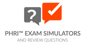 PHRi™ - Exam Simulators and Review Questions